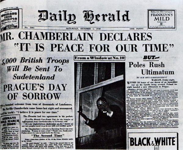 Daily Herald 1. 10. 1938